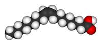 Acido oleico 3D